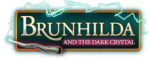Brunhilda and the Dark Crystal Game - Official Website Logo